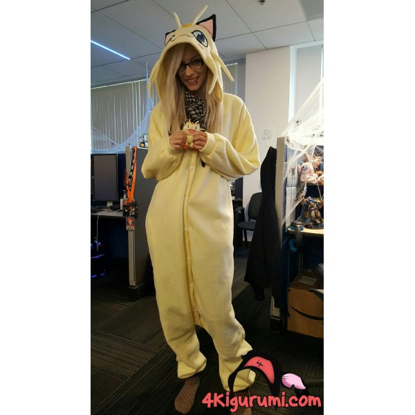 Meowth Kigurumi Reviewed By Bethany Stout
