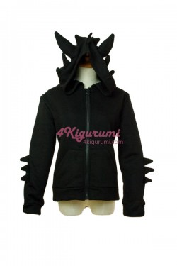 Toothless The Dragon Fashion Kigurumi Hoodie