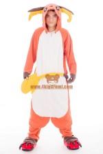 Pokemon Raichu Onesie Halloween Pajamas