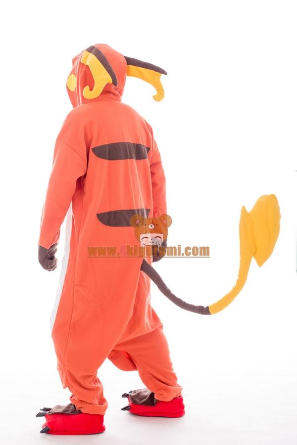 Pokemon Raichu Onesie Halloween Pajamas 4kigurumi Com