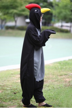 Black Cock Onesie Halloween Costumes