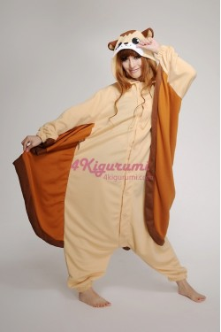 Flying Squirrel Onesie Animal Costumes Kigurumi Pajamas