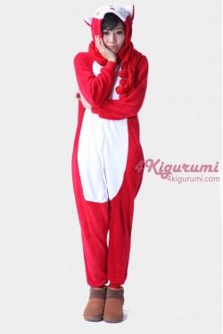 Red Fox Kigurumi Animal Onesie