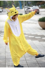 Yellow Fox Onesie Animal Costumes