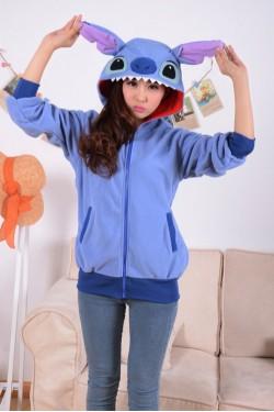 Stitch Kigurumi Disney Hoodie