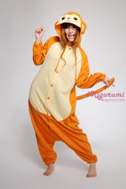 Monkey Kigurumi Animal Onesie