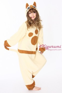Monster Hunter Airou Kigurumi Onesie