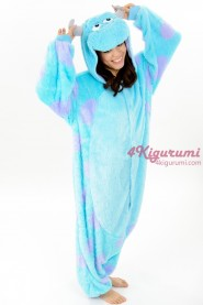 Monsters Inc. James P. Sullivan(Sulley) Onesie Kigurumi