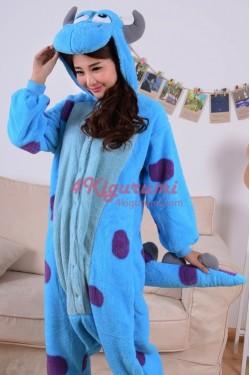 Monsters Inc. Sulley Kigurumi Pajamas