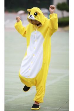 Yellow Mouse Onesie Animal Costumes