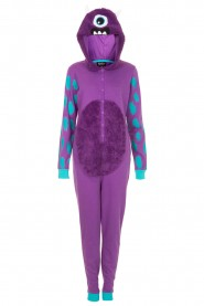One-Eyed Monster Purple Onesie