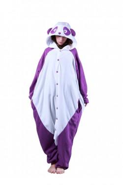 Purple Panda Onesie Kigurumi Pajamas
