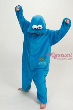 Sesame Street Cookie Monster Kigurumi Onesie