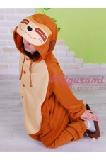 Sloth Onesie Animal Costumes Kigurumi Pajamas