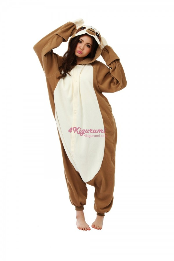 Sloth Kigurumi Ice Age Sid Costumes
