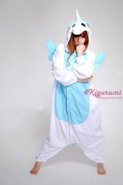 Blue Unicorn Kigurumi Onesie