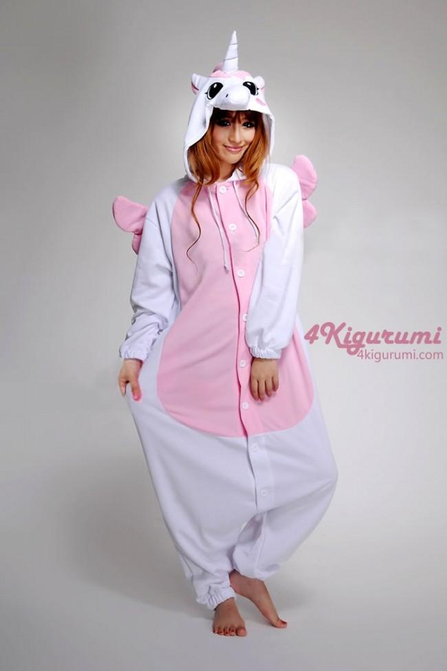 Www 4kigurumi com animal adult onesie pink unicorn kigurumi pajamas