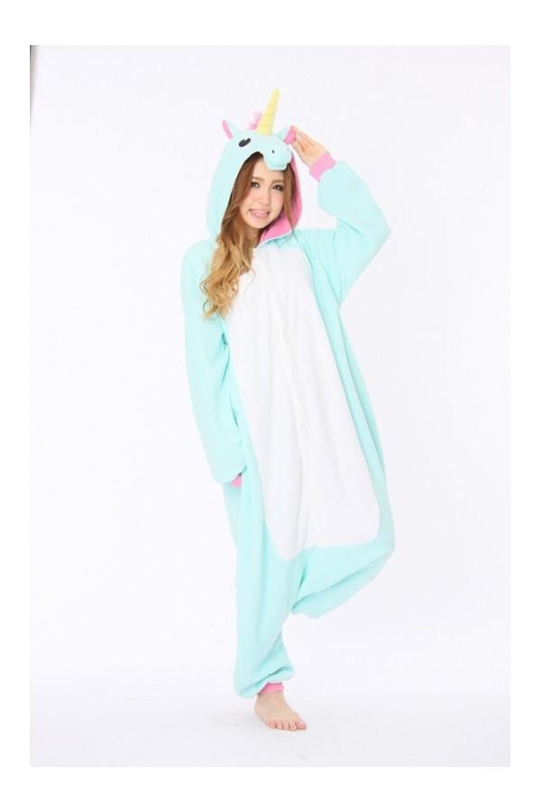 Kigurumi Pajamas Licorne Unicorn Onesie For
