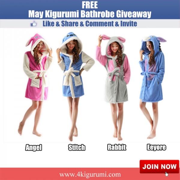 Kigurumi Bathrobe Giveaway - Win a Kigurumi Robe
