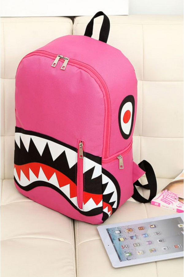 Shark Cartoon Backpack...