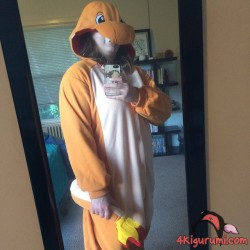 Charmander Kigurumi Reviewed by Sam Cavedon