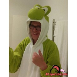 Yoshi Kigurumi Reviewed by Ben Gollow