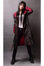 Devil May Cry Dante Cosplay Leather Windbreaker