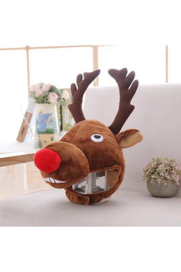 97c1a0aa34f Reindeer Kigurumi Plush Hat - 4kigurumi.com