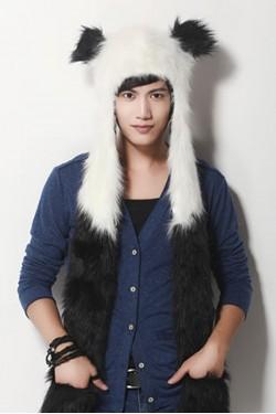 Panda Christmas Fashion Hoods