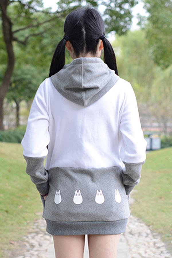 Totoro Style Sweet Hoodie - 4kigurumi.com | 600 x 900 jpeg 142kB