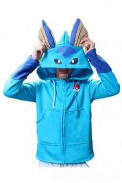 Pokemon Go Kigurumi Vaporeon Hoodie