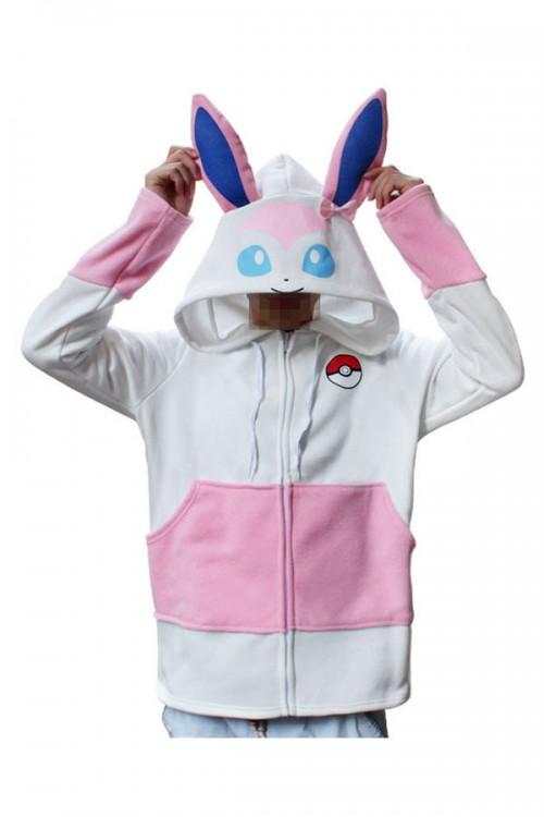 Pokemon Go Kigurumi Sylveon Hoodie