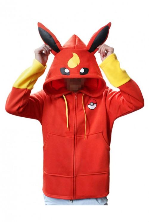Pokemon Go Kigurumi Flareon Hoodie