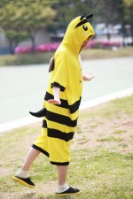 Bee Onesie Party Pajamas
