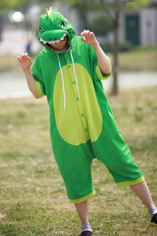Green Dragon Onesie Party Pajamas
