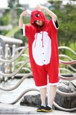 Red Evil Onesie Party Pajamas