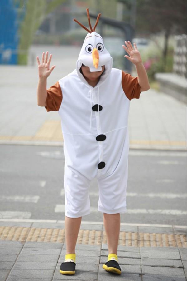 Frozen Olaf Onesie Disney Pajamas - 4kigurumi.com 4b35f9eb9