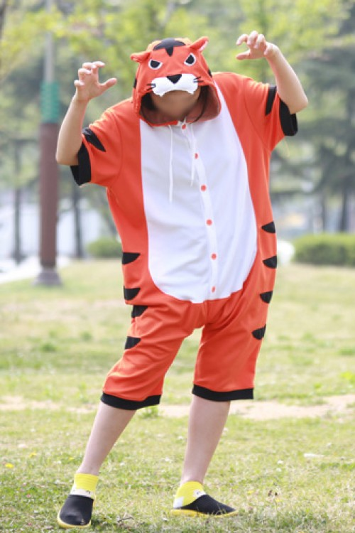 Bengal Tiger Onesie Party Pajamas