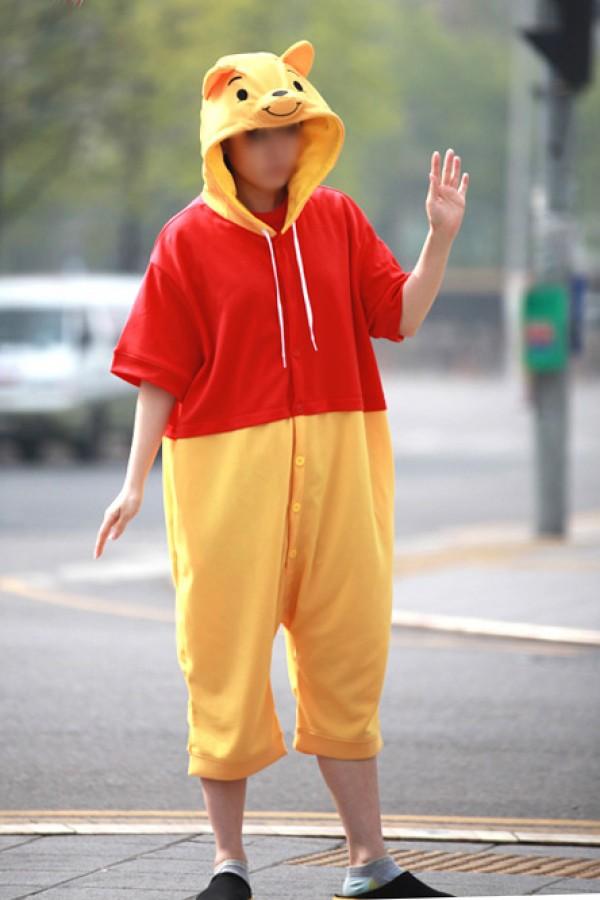 9cbb43d63829 Winnie The Pooh Bear Kigurumi Disney Pajamas - 4kigurumi.com