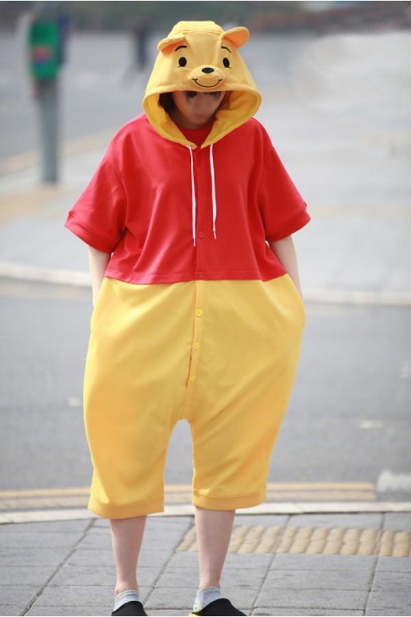 7070ba41d8b0 Winnie The Pooh Bear Kigurumi Disney Pajamas - 4kigurumi.com