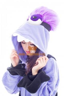 Purple Evil Minions M1 Kigurumi Onesies