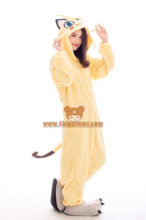 Pokemon Meowth Onesie 2016 Lovely Pajamas 4kigurumi Com