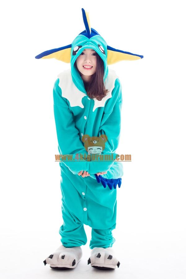 vaporeon kigurumi pokemon costumes 4kigurumi com