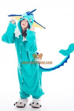Vaporeon Kigurumi Pokemon Costumes