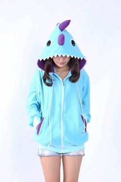 Dinosaur Kigurumi Lovely Hoodie