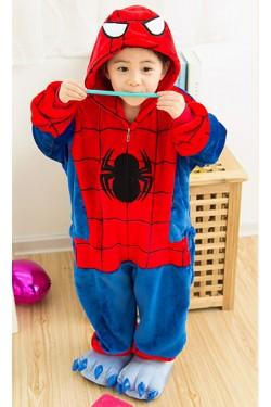 Flannel SPIDER-MAN Kigurumi Kids Onesies