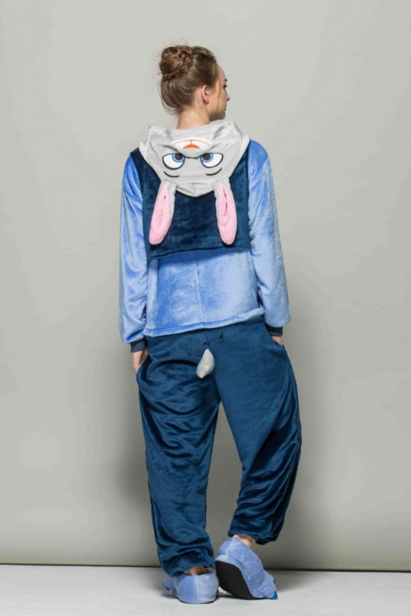 Flannel Judy Hopps Kigurumi Onesie 4kigurumi Com