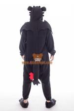 Toothless The Dragon Onesie Kigurumi Costume