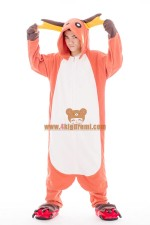 Pokemon Raichu Onesie Halloween Pajamas
