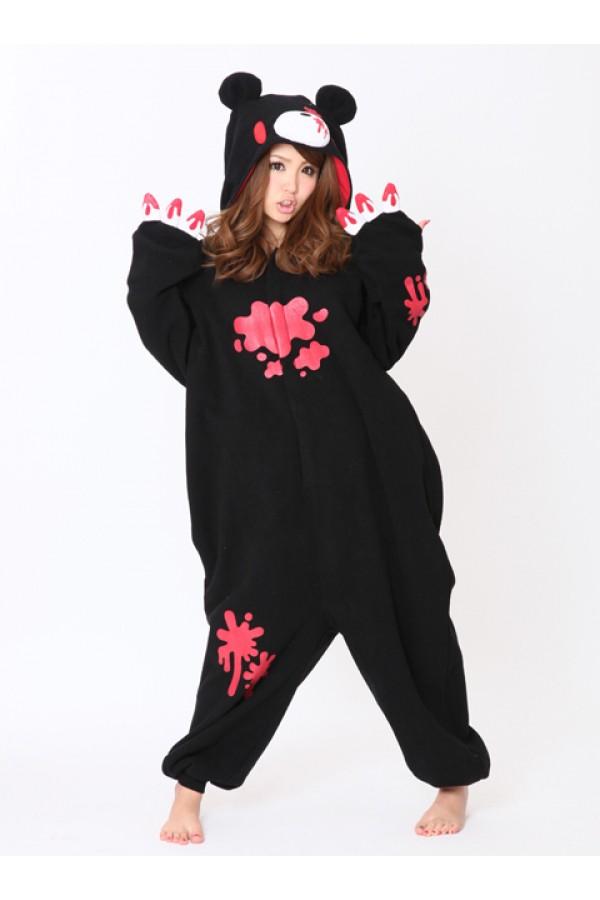 2441594f1 Black Gloomy Bear Kigurumi Animal Onesie - 4kigurumi.com